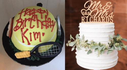 Specialty cakes from Sweetly Anchored Patisserie