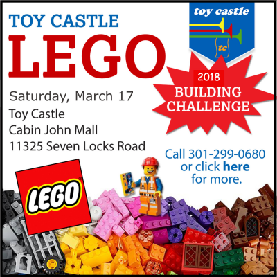 Toy Castle Lego Building Challenge