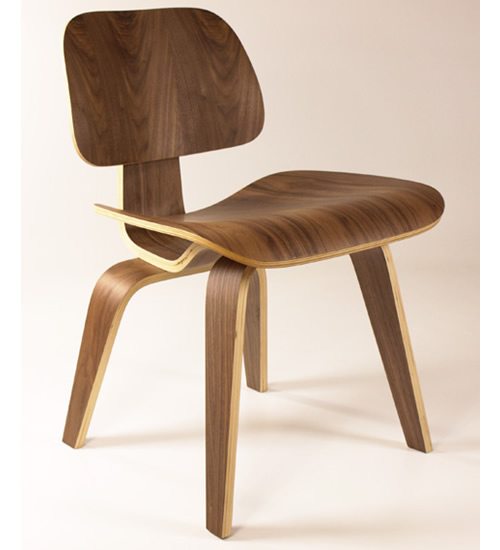 Molded Plywood Dining ChairNatural