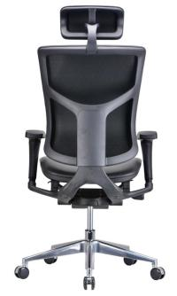 Modrest Watson Modern Black Leather Office Chair ...