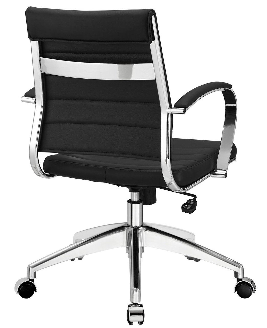 Black Office Chairs Aria Leather Office Chair Advancedinteriordesigns
