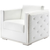 Nuevo Boxer Arm Chair in Black and White | Armchairs ...