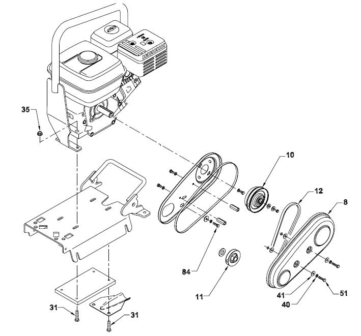 How-to: Wacker VP1340, VP1550 & VP2050 Belt Replacement