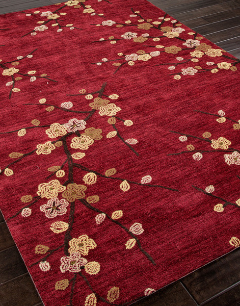 dark red area rug  Home Decor