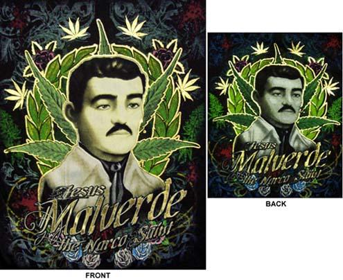Gres Tatoo Knowing Jesus Malverde Tattoo Images