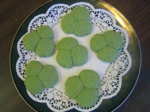 St. Patricks Day FHE, Jell-O Cookies