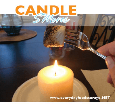 Candle S'mores