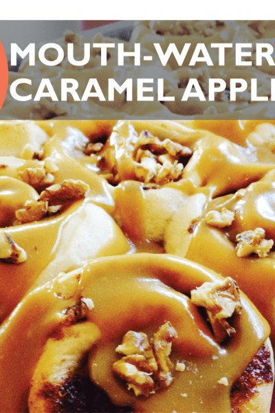 Delicious 30-Minute Caramel Apple Rolls