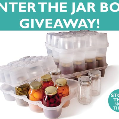 Enter to win 2 FREE Jar Boxes!! Plus, Bonus Canning Bean Video