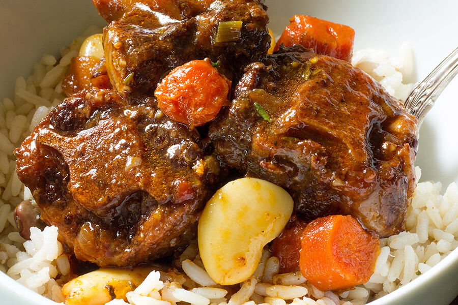 Jamaican Oxtails and Beans Recipe