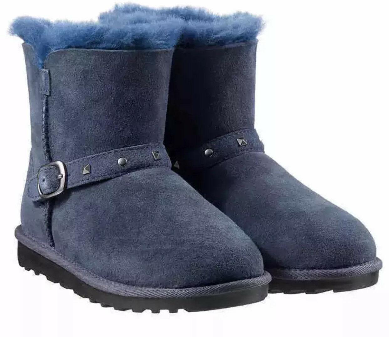 Australian Sheepskin Woollen Ugg Boots Kids Slippers