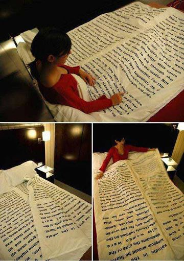 book bedding