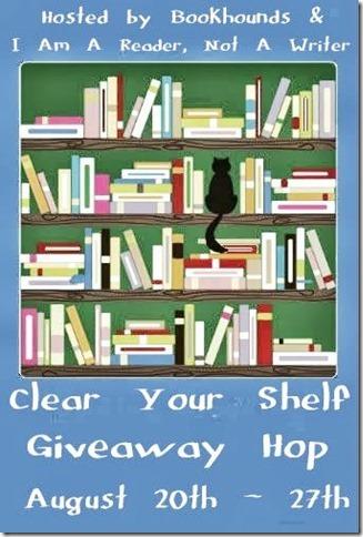 clear shelf giveaway hop