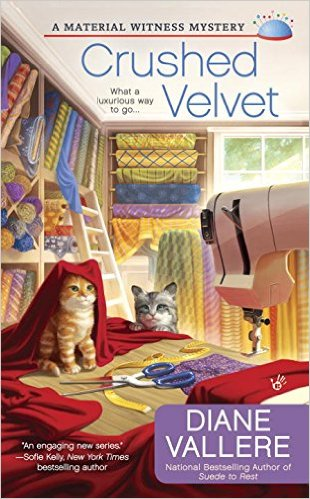 crushed velvet cover