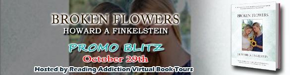 broken flowers banner