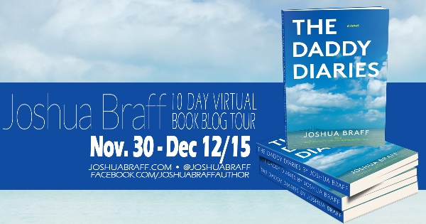 daddy diaries blog tour graphic