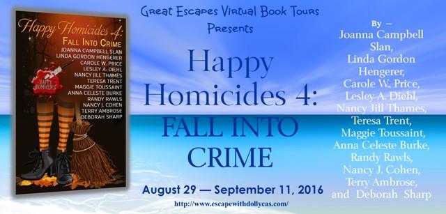 HAPPY HOMICIDES fall into crime