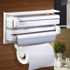 3 In 1 Kitchen Aid Ovens Storia Urban Living Triple Paper Dispenser Holder 38 1x19 05x7 6 Cm White