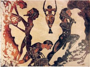 Schiavi nelle miniere di Laurio (Grecia)