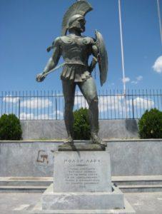 Statua di Leonida a Sparta