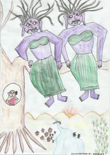 Kumati and Sumati - A Folktale