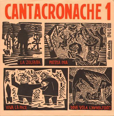 Cantacronache Canzoni popolari italiane anni 50 e 60