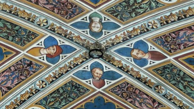 La volta del Pellegrinaio dello Spedale di Santa Maria della Scala a Siena