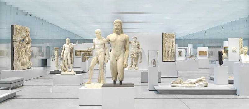 La Galerie du Temps del Louvre Lens (foto dal sito del museo)