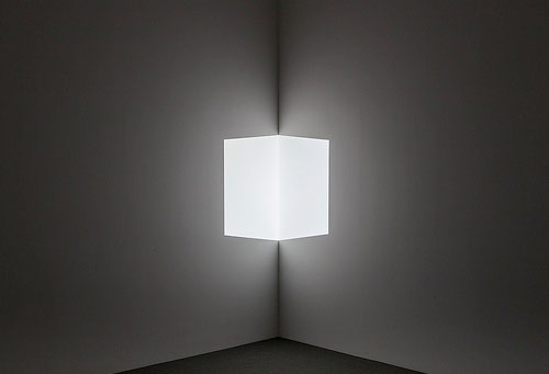 James Turrell, Afrum I (White) (1967)
