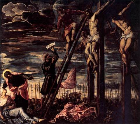 Tintoretto, Crocifissione, San Cassiano