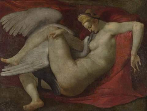 da Michelangelo, Leda e il cigno