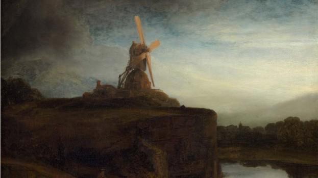 Rembrandt, Mulino a vento