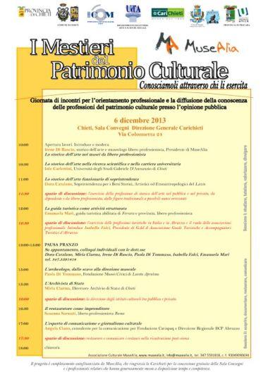 MuseAlia_locandina_Mestieri_6.12.13 1