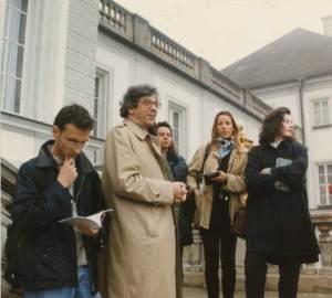 Nymphenburg, viaggio con gli studenti, 1996
