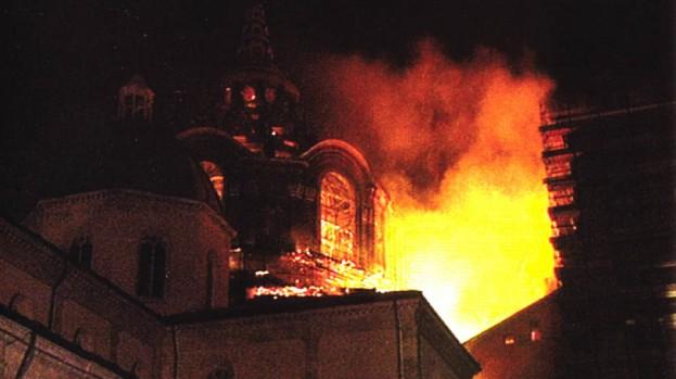 La cappella della Sindone di Guarini a 17 anni dall'incendio. Verso la riapertura?