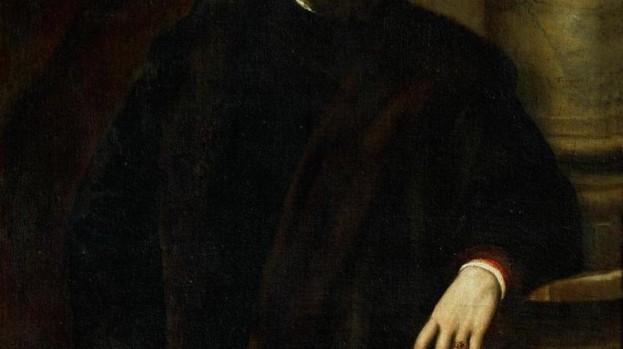 Tiziano, Ritratto di Benedetto Varchi