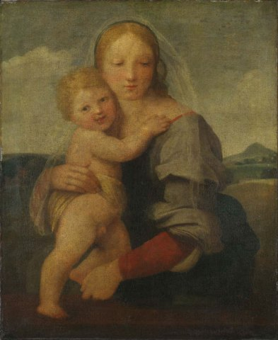 Raphael, The Madonna and Child (The Mackintosh Madonna)