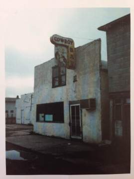 W.Wenders, Cowboy Bar