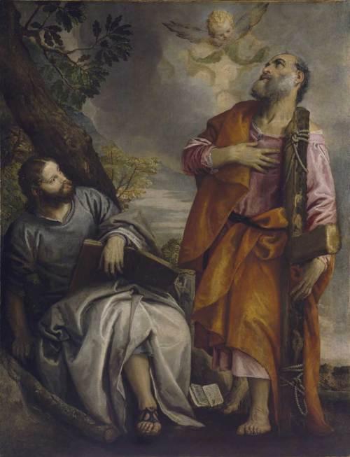 Paolo Veronese, San Giacomo Minore e San Filippo, Dublino, National Gallery of Ireland