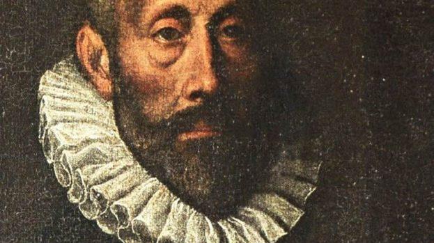 5. Antonio D'Enrico detto Tanzio da Varallo (copia da?): <em>Ritratto di Ferrante Imperato</em> (particolare). Pisa, Museo dell'Orto Botanico.