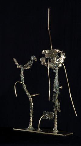 Senza-titolo-1959-scultura-in-ottone-di-cm.-40x19x14