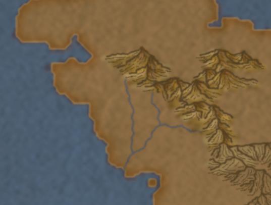 9) Avete ottenuto il vostro fiume.