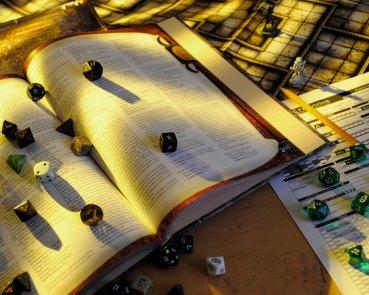 Alcuni manuali e strumenti del gdr cartaceo
