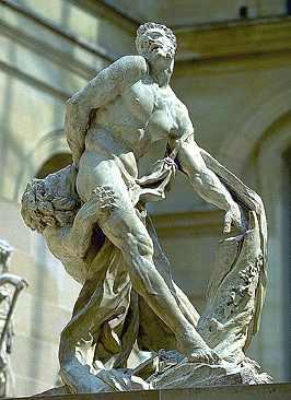 Pierre Puget, -Milone di Crotone- al Louvre