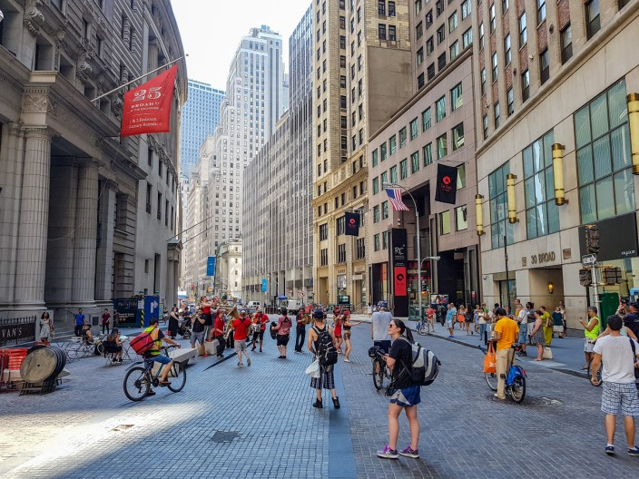 Shared Street: Lower Manhattan