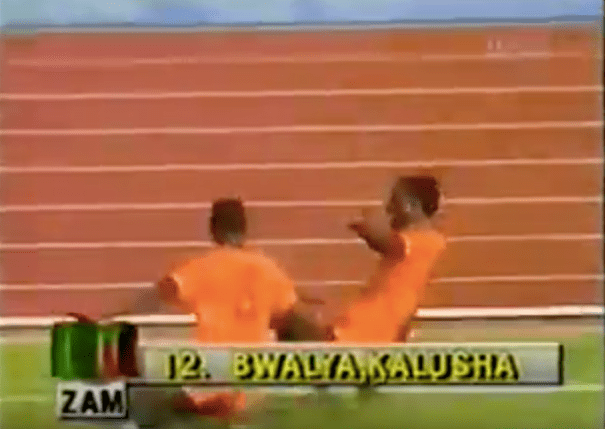 Kalusha Bwalya: da Italia-Zambia 0-4 al disastro aereo scampato