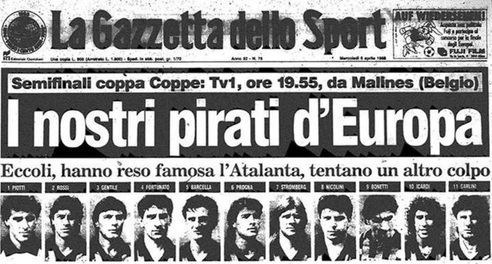 La notte della Dea: Atalanta-Malines, dalla Serie B ad un passo dalla gloria europea