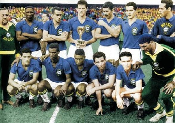 """1958: Brasile-Svezia 5-2. E tutto il mondo cantò """"Didì, Vavà, Pelé, Garrincha"""""""