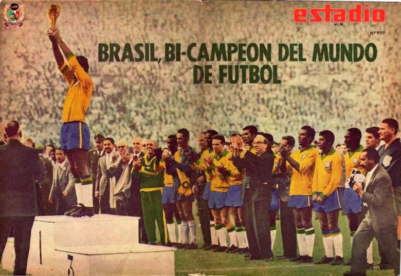 "Seconda ""Rimet"" al cielo per il Brasile"