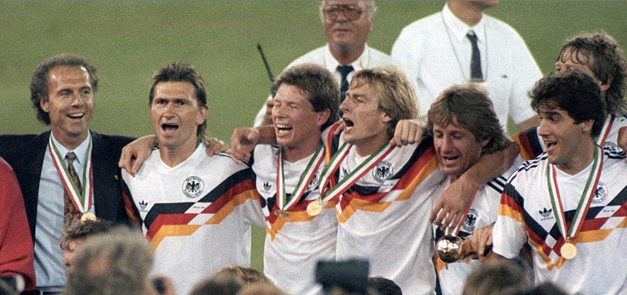 1990: Germania Ovest-Argentina 1-0. Tris tedesco nel Mondiale delle mille storie